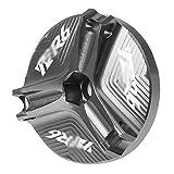 Motorcycle Motor Pasador de llenado de Aceite Cap Sump Tump Tornillo Tornillo/Ajuste para Yamaha YZF R1 R1M R5 R3 R6 2015 2016 2017 2017 2019 (Color : Gray R6)