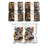 【玉・バラセット】青森県産 熟成 波動黒にんにく 玉・バラ計2kgセット(各500g×2袋ずつ)