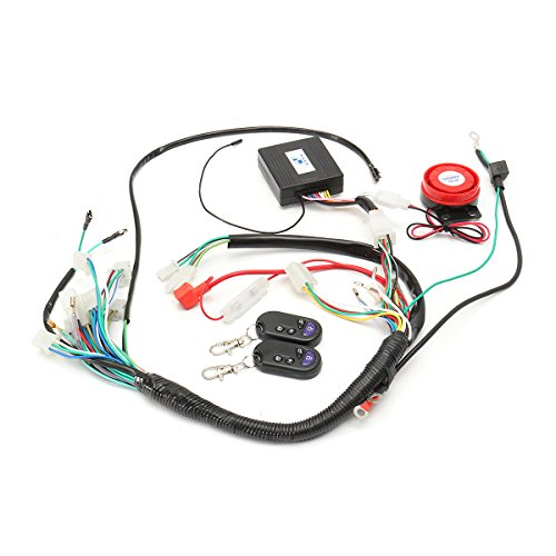 Forspero wiring Harness Start Switch Coil Loom Remote Speaker 50cc 70cc 125cc Quad ATV Bike