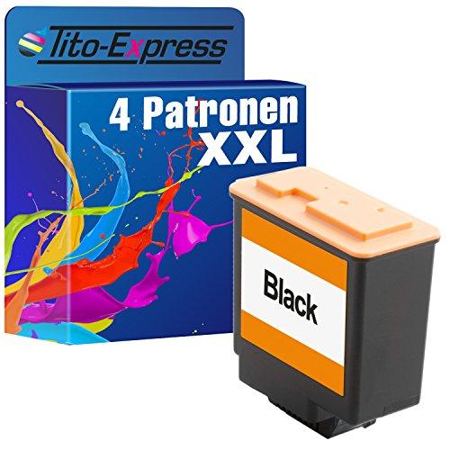 4x Cartuchos de Tinta XXL para Olivetti Fax Lab 45046047048095M100S100FJ de 31
