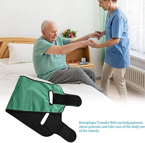 WuLien Multifunktionaler Pflegegürtel für Patienten Transferbrett medizinisches Transferhilfen Sicherheit Gleitbrett, Transfer-Gürtel, für Rollstuhl und Bett, für der Alten, Senioren, bariatrisch