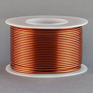 Magnet Wire 18 Gauge AWG Enameled Copper 100 Feet Coil Winding and Crafts 200C