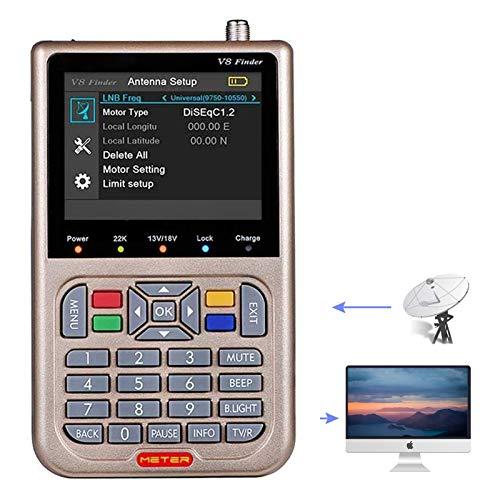 ZHITING-V8 Satellite Finder Signal Meter Récepteur TV...