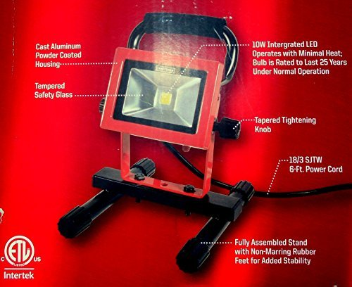 Craftsman LED Portable Work Light 10 watts 1-Mfg# 03418346