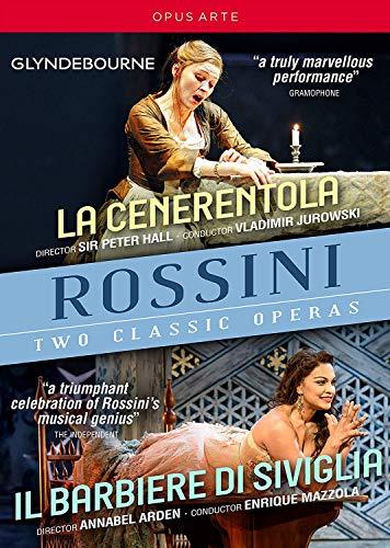 Rossini, G.: Cenerentola (La) / Il barbiere di Siviglia [Operas] (Glyndebourne, 2005-2016) (3-DVD Box Set) (NTSC)