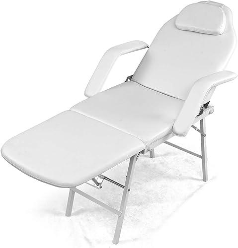 Giantex73 Portable Tattoo Parlor Spa Salon Facial Bed Beauty Massage Table Chair