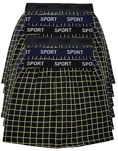 MioRalini 6 Boxershort Bedruckte Baumwolle Artikel: Ohne Eingriff Sport01, Größe: 4XL-10