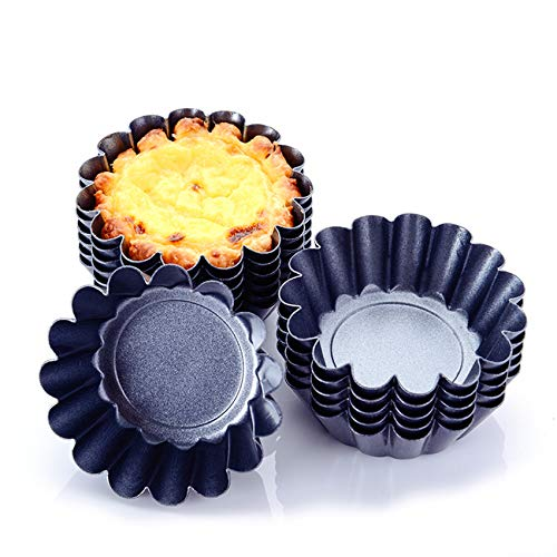 Cozynest 12PCS Mini Tart Pans (3 inch)