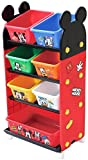 錦化成 おもちゃ箱 トールトイステーション レッド (R-fri) ミッキーマウス