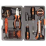 15PCS / Set Herramientas esenciales Herramientas de reparación de hardware para vehículos y estuche de herramientas