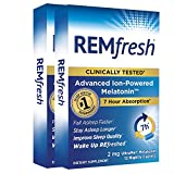 REMfresh 2mg Advanced Melatonin Sleep Aid Supplement (12 Caplets) 2 Pack Drug-Free, Sleeping Pills to Support Restful, Natural Sleep | #1 Doctor Recommended | Pharmaceutical-Grade, Ultrapure Melatonin