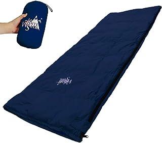 whiteseek 寝袋 シュラフ 羽毛 ダウン 封筒型 軽量 極小 コンパクト 手のひらサイズ