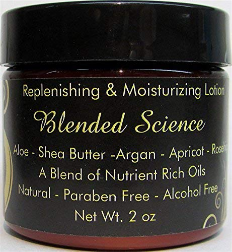 Natural Vegan Face Cream Argan Oil Replenishing & Moisturizing Lotion Daily Use Sensitive Skin No Parabens No Alcohol No Harsh Chemical Cruelty Free (2.0 oz)
