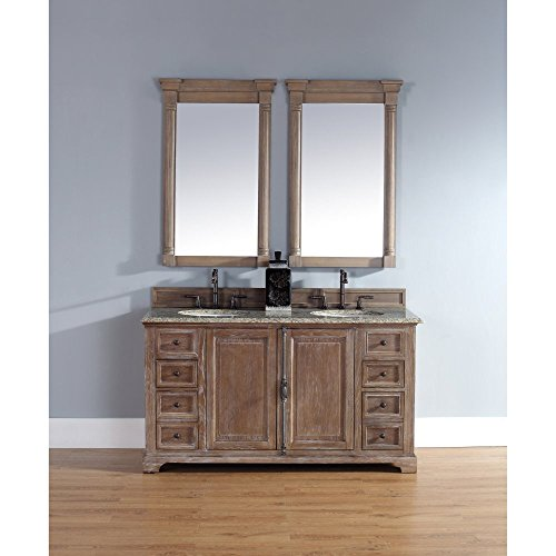Best Prices! Double Vanity with Santa Cecilia Granite Top
