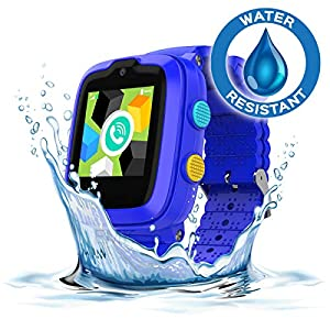 2020 Model - 4G Kids Smartwatch with GPS Tracker   Touch Screen   Remote Monitoring   SOS   Video Call   Safe Zone Gift for Boys/Girls (Blue)