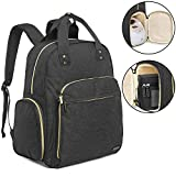 Teamoy Breast Pump Bag Compatible with Spectra S1,S2, Medela and Cooler Bag, Large Breast Pump Backpack with Insulated Pockets, Laptop Sleeve for Working Moms, Black