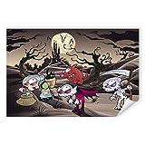 Postereck - 1394 - Horror Märchen, Kinder Halloween Zauber