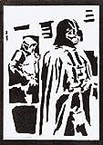 Póster Darth Vader STAR WARS Grafiti Hecho a Mano - Handmade Street Art - Artwork