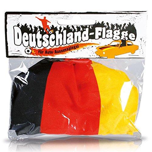 Unbekannt Spiegelflagge/Spiegelfahne DEUTSCHLAND 1 Paar, Auto/PKW Rückspiegel/Autospiegel Fahne/Flagge/Überzug/Socke Spiegelsocken