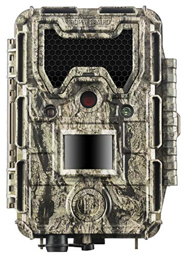 Price comparison product image Bushnell 119877 24MP Trophy Cam HD No Glow Trail Camera with Color Viewer,  Camo Camouflage