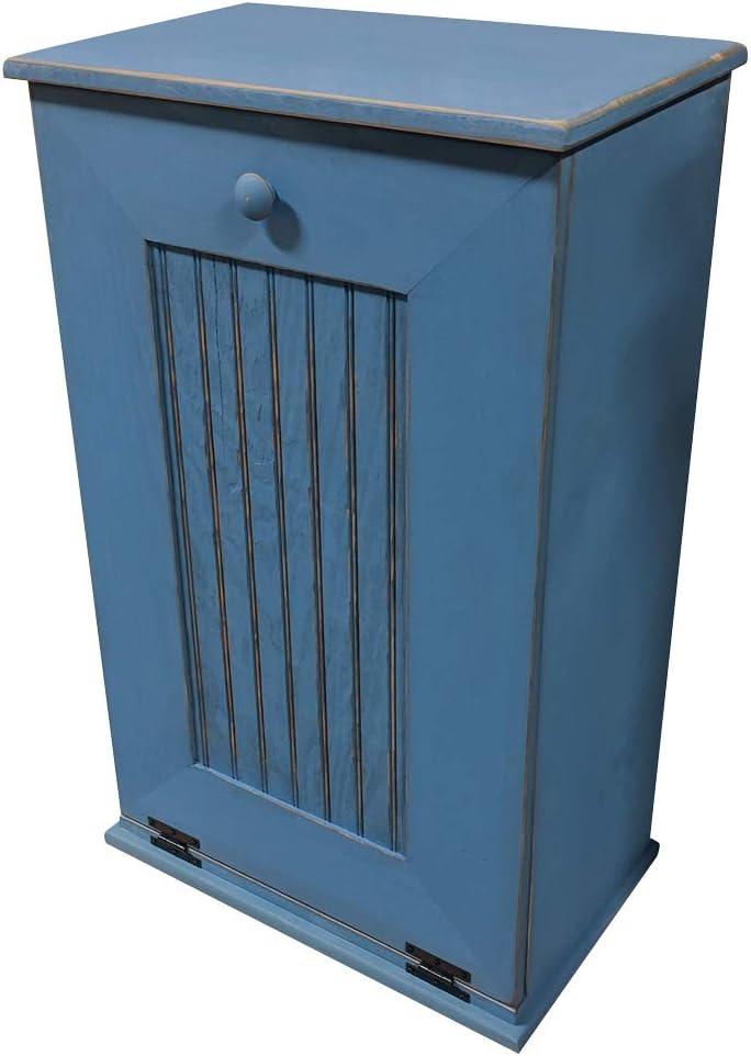 Sawdust Sale item City Tilt Out Trash Old Max 61% OFF Blue Williamsburg Cabinet