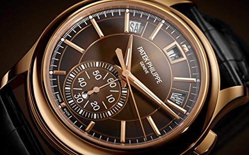 Patek Philippe Complications Rose Gold 5905R-001 with Brown Sunburst dial