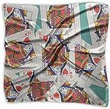 Sheep of Hearts - Pañuelo de póquer de poliéster con bolsillo cuadrado mulipurpose de seda, impresión delicada