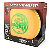 Discraft Deluxe Disc Golf Set (4 Disc and Bag) Models and Plastic Blends