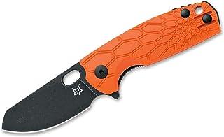 Fox Knives Unisex – Vuxen Baby Core Orange fickkniv, 14,5 cm