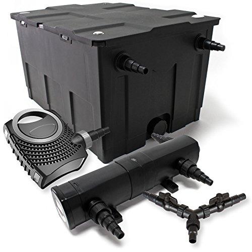 SunSun Filter Set 60000l Teich 36W Teichklärer NEO10000 80W Pumpe