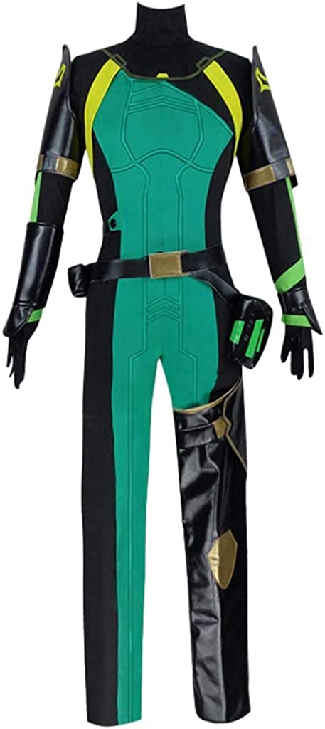 CosplayDiy Women's Suit 2021 spring and summer new for Valorant Costume Jumps Cosplay Bargain sale Viper