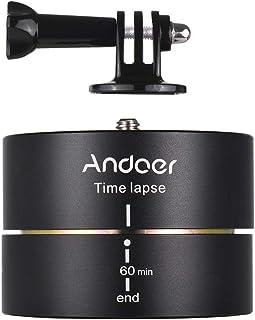 60 دقيقة 360 درجة من الدوران التلقائي لثلاث مرات مثبت بانورامي لجو برو هيرو6 5 4 3 3+ لكاميرا DSLR ILDC خفيفة الوزن لهواتف...