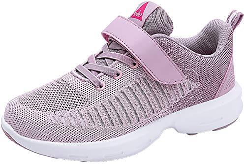 ZUSERIS Baskets Chaussures de Course Femme Homme Chaussures de Sport Sneaker Outdoor Respirant Légère Running Fitness Chaussures Violet-Clair 38 EU = 39 CN