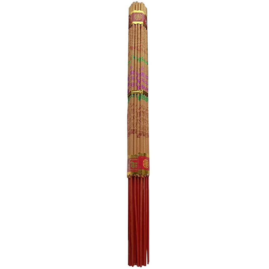 zeestar Incense/中国香お香Long Burning Buddhist 10.2インチ?–?38?Sticks