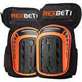 Knee Pads for Work, Construction Gel Knee Pads Tools by REXBETI, Heavy Duty Comfortable Anti-slip...
