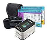 ORC Gear Advanced Pulse Rate And Oxygen Saturation Reader, Heart Rate Chart, Waist