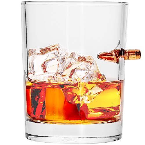 Lucky Shot .308 RealBullet HandmadeWhiskey Glass