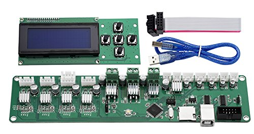 Control Board Melzi PCB Card ATMEGA 1284P P802M Mainboard X3A Motherboard XY-100 Controller With 2004LCD For Tronxy 3D printer