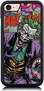 iPhone 7 Plus Case, [Cartoon Killing Joker Design] Soft Silicone & Hard Back Cover [Shock Absorbent] Case iPhone 7 Plus (iPhone 7plus case)