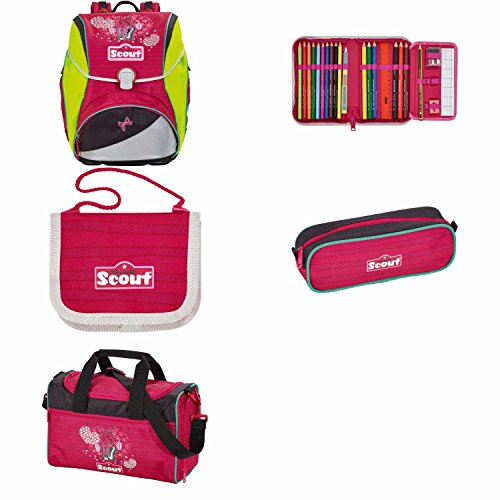 Scout ltd. Kollektion 2015/16 Alpha Schulranzen Set 5 tlg., Dance II