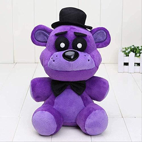 QIXIDAN FNAF Toys Five Nights at Freddy Plush Toy Bear Plush Toys-Shadow 18cm Peluches