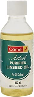Camel Artist Purified Linseed Oil for Oil Colour (Yellow)