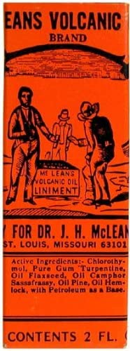 Dr. J.H. Manufacturer direct delivery Columbus Mall McLean's Volcanic Oil Pack OZ 2 of