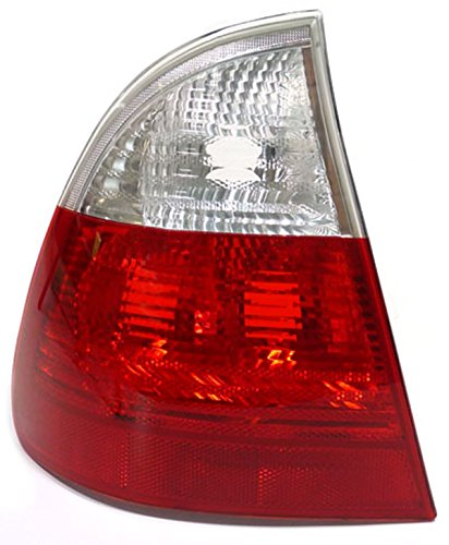 Carparts-Online 10056L Rückleuchte rot weiß klar links
