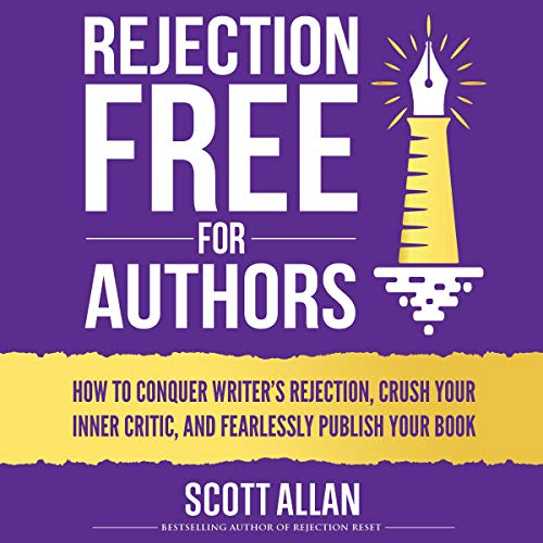 Rejection Free for Authors audiobook cover art