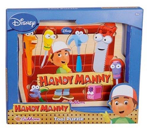 Smoby Puzzle Madera Manny Manitas