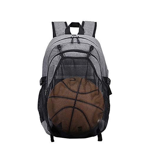 RongDuosi Basketbal Rugzak Middelbare School Studententas Cross-border Voor Heren Rugzak USB Casual Outdoor Sport Rugzak Outdoor Rugzak Zwembed