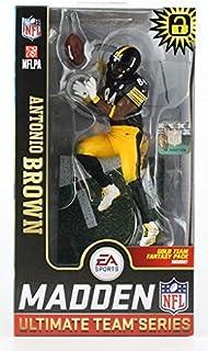 Antonio Brown (Pittsburgh Steelers) Surprise Chase Figure EA Sports Madden NFL 19 Ultimate Team Series 1 McFarlane