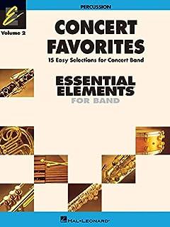 Concert Favorites Vol. 2 - Percussion: Essential Elements Band Series