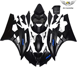 NT FAIRING Matte Black Blue Injection Mold Fairing Fit for Yamaha 2006 2007 YZF R6 New Painted Kit ABS Plastic Motorcycle ...
